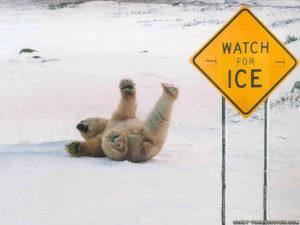 περπατημα στον παγο